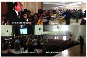 Palestras do Prof. Lúcio Fonseca no Brasil e em Angola