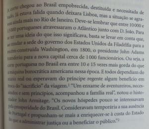 "Trecho do livro ""1808"", de Laurentino Gomes - Ed. Planeta"